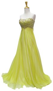 Riva Designs Prom Homecoming Strapless Dress