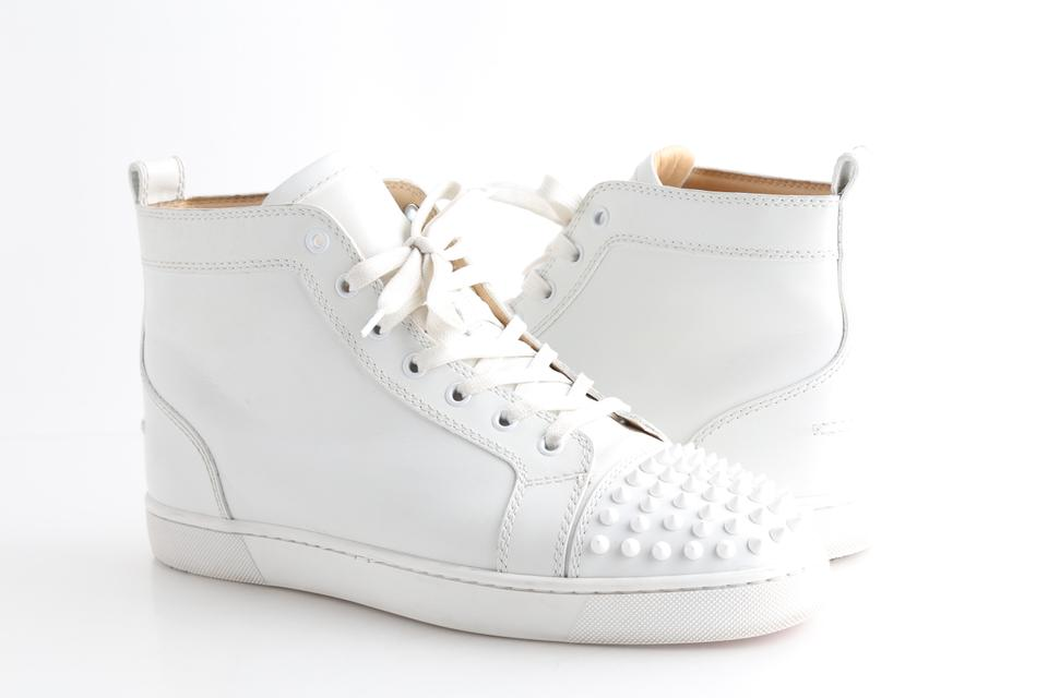 sale retailer 3d97f 959fe White Spiked Sneakers Shoes