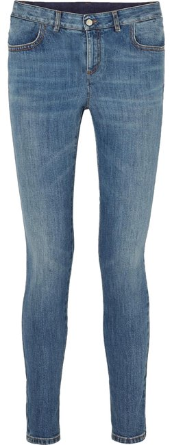 Item - Blue Medium Wash Mid Rise Skinny Jeans Size 27 (4, S)