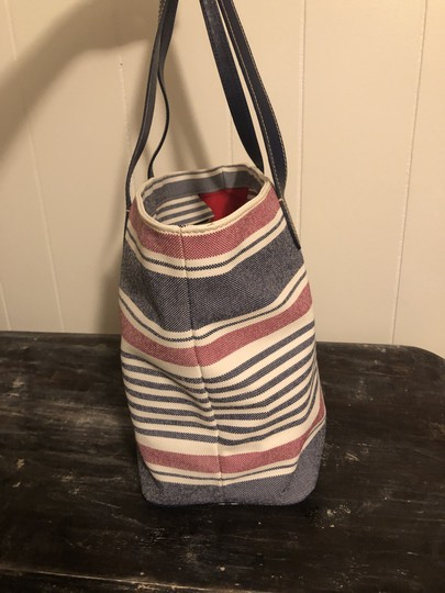Dooney & Bourke Tote in Red, white, blue Image 2