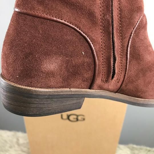 UGG Australia Daley Tall Suede Mahogany Boots Image 5