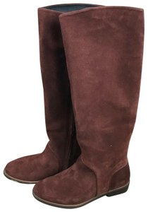 UGG Australia Daley Tall Suede Mahogany Boots