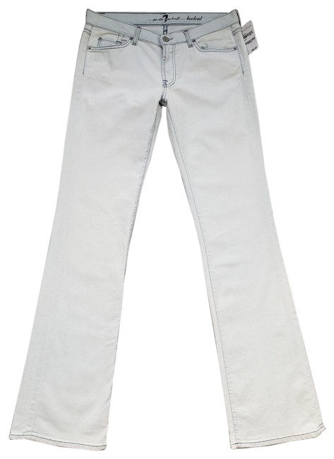 Item - Light Blue Wash Mid Rise Rio Stretch Boot Cut Jeans Size 31 (6, M)
