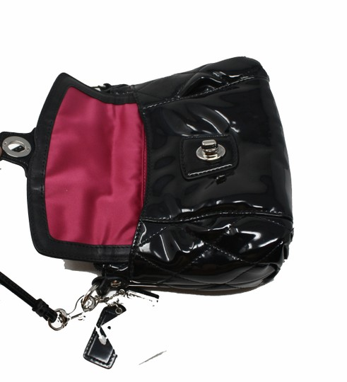 Coach 46585 Patent Leather Liquid Gloss Mini New With Cross Body Bag Image 5