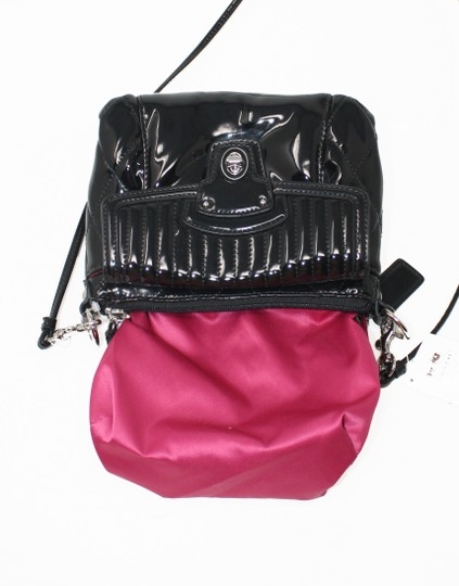 Coach 46585 Patent Leather Liquid Gloss Mini New With Cross Body Bag Image 7