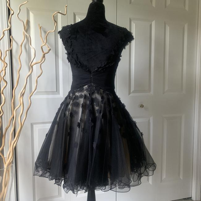 Tony Bowls Rare Lbd Floral Homecoming Prom Dress Image 3
