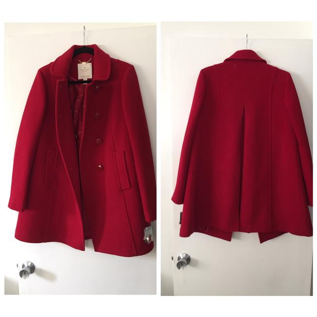 Preload https://img-static.tradesy.com/item/25774874/kate-spade-red-ruby-twill-wool-blend-coat-size-8-m-0-0-650-650.jpg