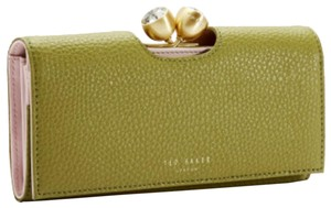 Ted Baker Ted Baker London Pebble Textured Bobble Leather Matinee Wallet