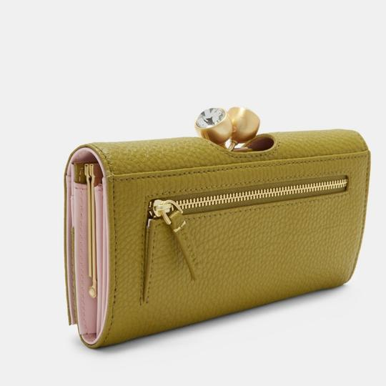 Ted Baker Ted Baker London Pebble Textured Bobble Leather Matinee Wallet Image 1