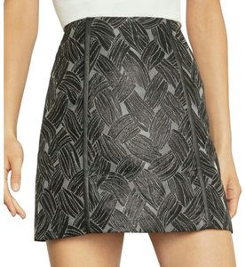 BCBGMAXAZRIA Mini Skirt Metal Black