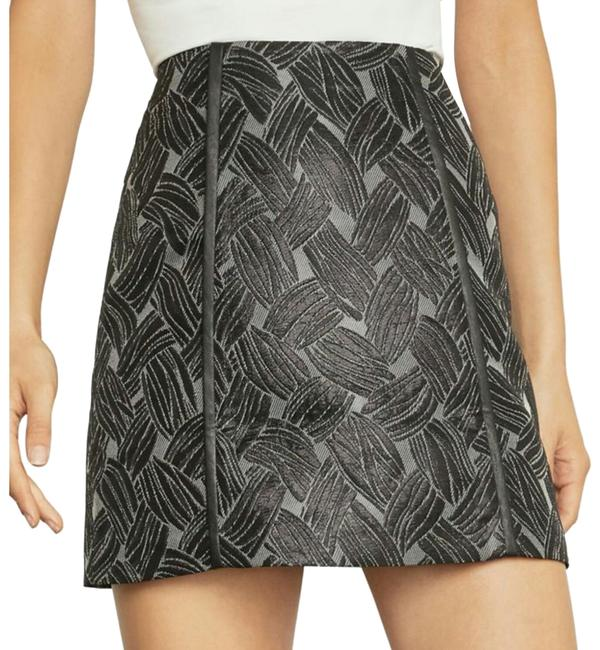 Preload https://img-static.tradesy.com/item/25775030/bcbgmaxazria-metal-black-skirt-size-6-s-28-0-3-650-650.jpg