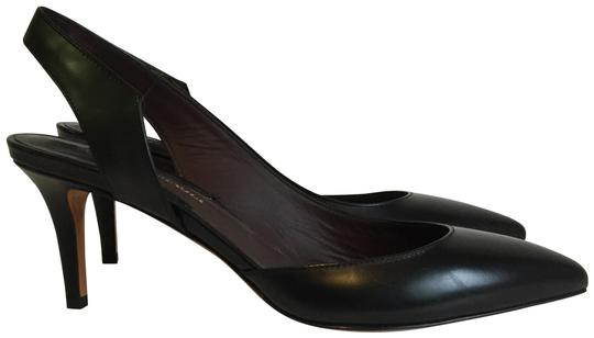 Preload https://img-static.tradesy.com/item/25775039/bruno-magli-black-leather-pointed-toe-slingback-pumps-made-in-italy-sandals-size-eu-38-approx-us-8-r-0-2-540-540.jpg