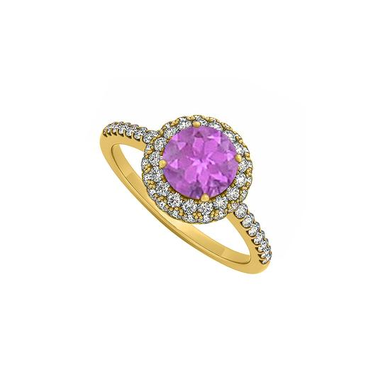 Preload https://img-static.tradesy.com/item/25775066/purple-amethyst-and-cubic-zirconia-double-halo-engagement-in-14k-yellow-ring-0-0-540-540.jpg
