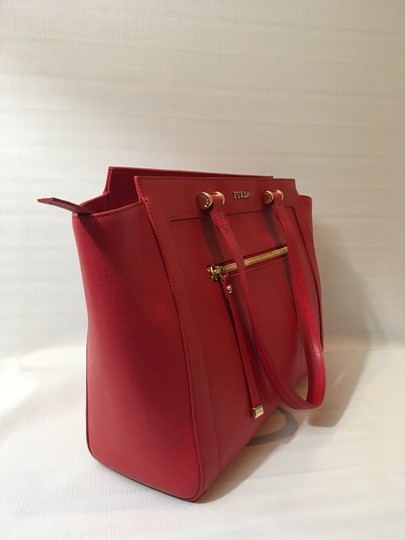Furla Tote in Red Image 2