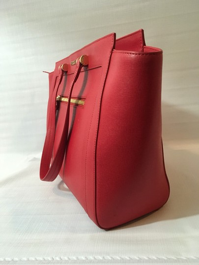 Furla Tote in Red Image 3