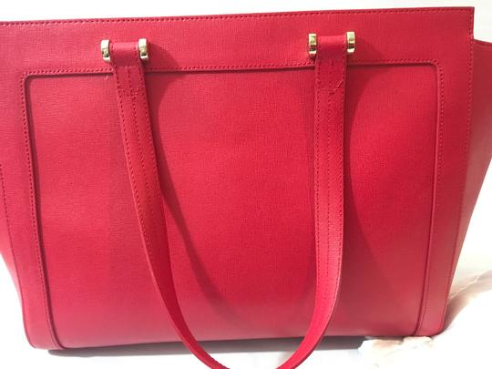 Furla Tote in Red Image 8