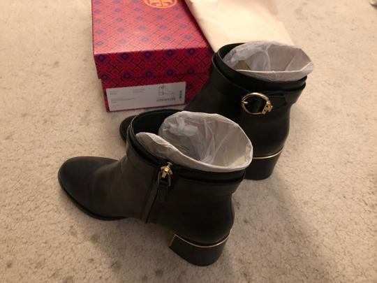 Tory Burch Genuine Leather black Boots Image 1