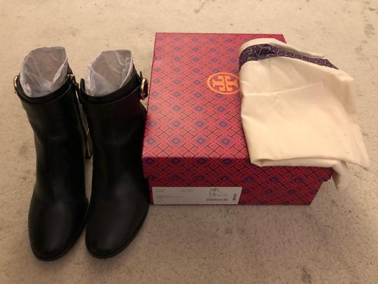 Tory Burch Genuine Leather black Boots Image 2