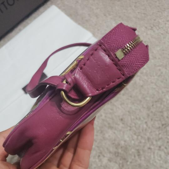 Louis Vuitton Monogram Locks And Charms Pink Limited Edition Purple Clutch Image 4