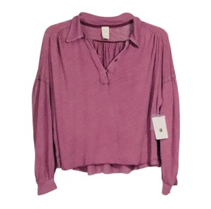 Free People Top Mulberry