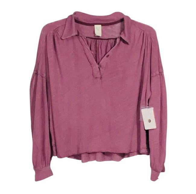 Preload https://img-static.tradesy.com/item/25775227/free-people-mulberry-rush-hour-tee-blouse-size-14-l-0-0-650-650.jpg