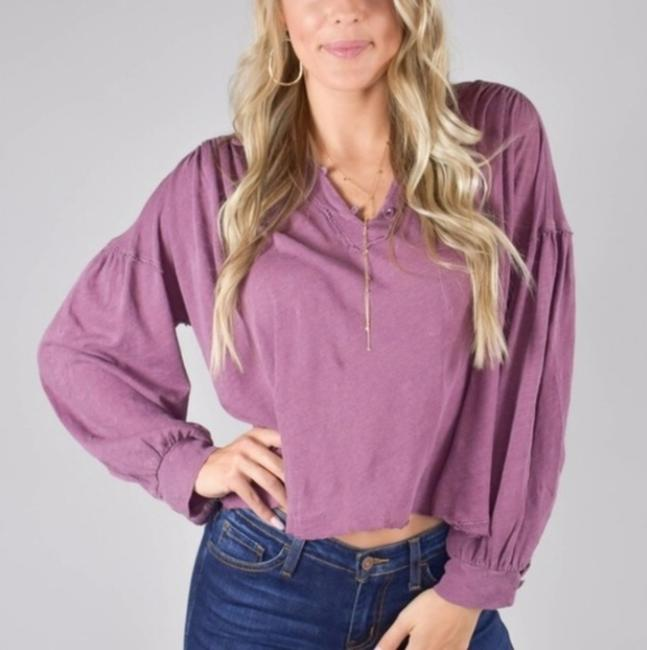 Free People Top Mulberry Image 1