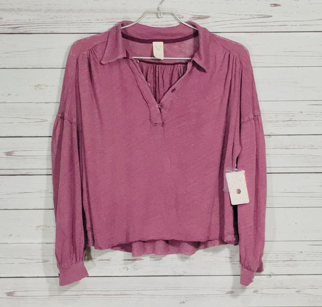 Free People Top Mulberry Image 2