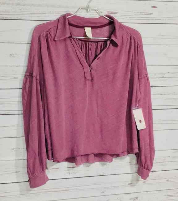 Free People Top Mulberry Image 3
