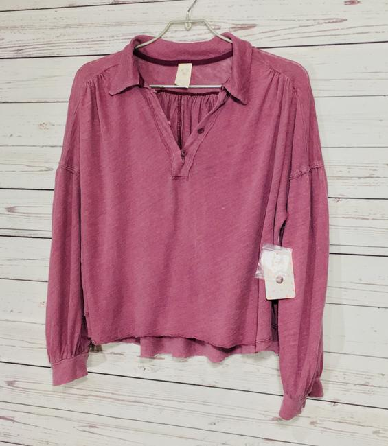Free People Top Mulberry Image 4