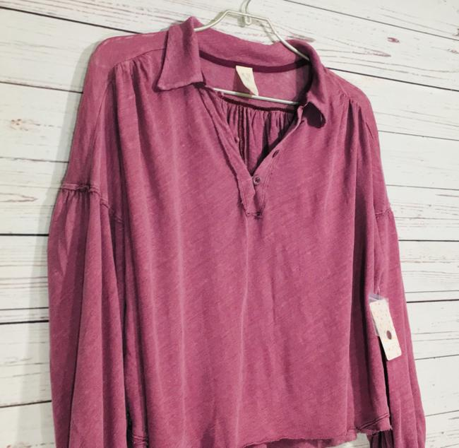 Free People Top Mulberry Image 7