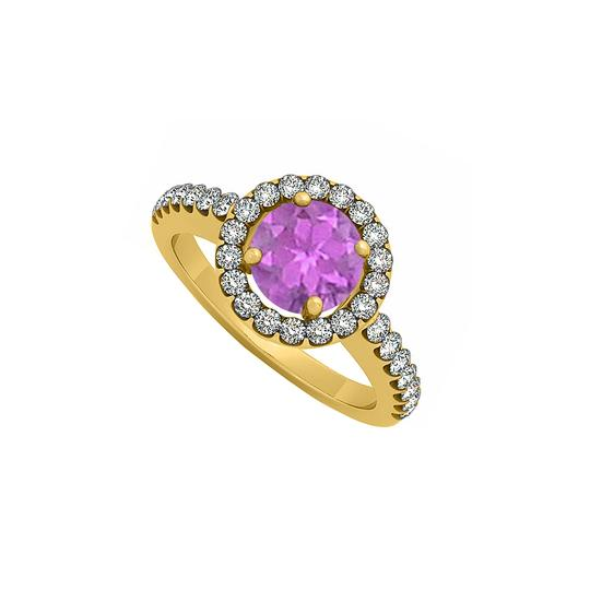 Preload https://img-static.tradesy.com/item/25775228/purple-february-birthstone-amethyst-and-cubic-zirconia-halo-engagement-1-ring-0-0-540-540.jpg