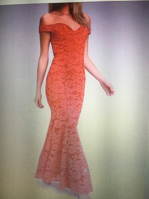 Lulu*s Off The Shoulder Lace Gown Dress Image 5