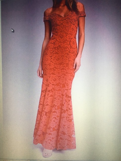 Lulu*s Off The Shoulder Lace Gown Dress Image 7