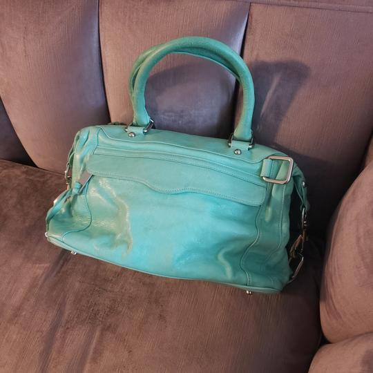 Preload https://item2.tradesy.com/images/rebecca-minkoff-seagreen-leather-satchel-25775316-0-0.jpg?width=440&height=440