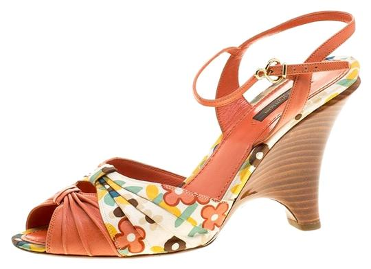 Preload https://img-static.tradesy.com/item/25775337/louis-vuitton-orange-motif-printed-fabric-and-leather-ankle-strap-sandals-size-eu-385-approx-us-85-r-0-1-540-540.jpg