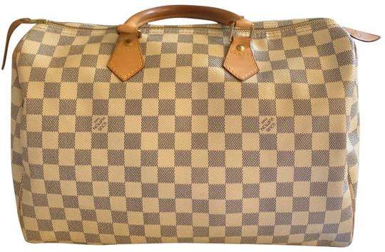 Preload https://img-static.tradesy.com/item/25775341/louis-vuitton-speedy-35-damier-azur-white-and-blue-checkered-canvas-with-vachetta-cowhide-leather-tr-0-1-540-540.jpg