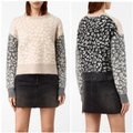AllSaints Mohairwoolsweater Animalprint Sweater Image 0