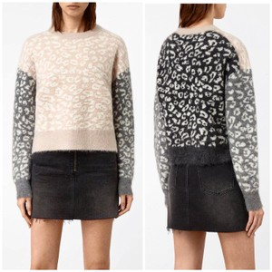 AllSaints Mohairwoolsweater Animalprint Sweater