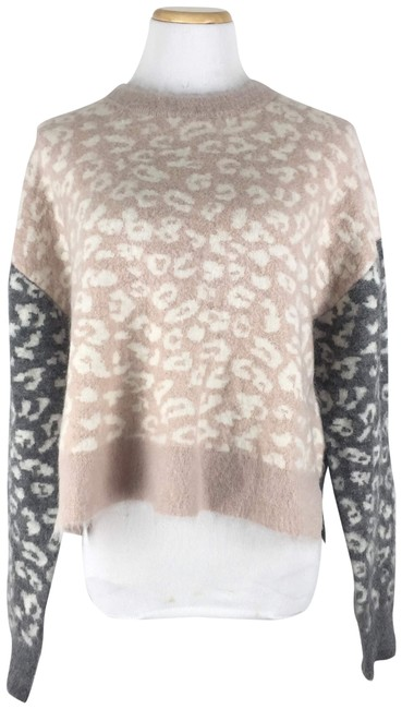 AllSaints Mohairwoolsweater Animalprint Sweater Image 1