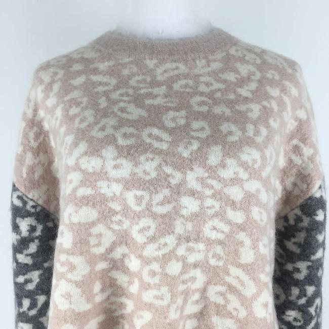 AllSaints Mohairwoolsweater Animalprint Sweater Image 2