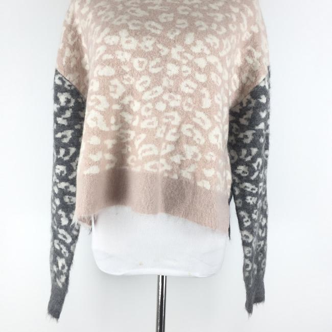 AllSaints Mohairwoolsweater Animalprint Sweater Image 3