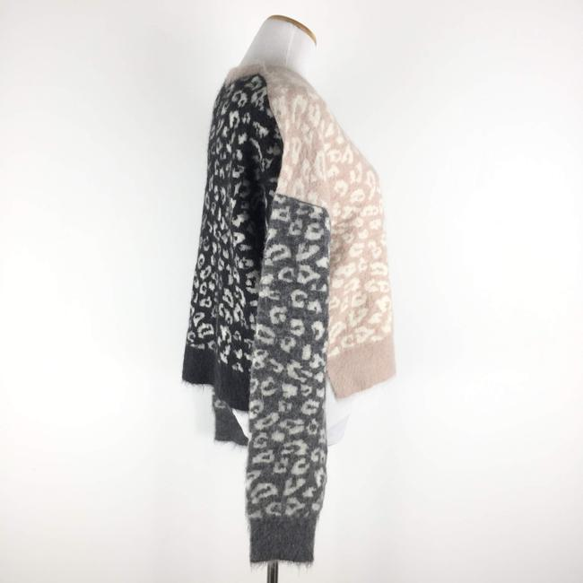 AllSaints Mohairwoolsweater Animalprint Sweater Image 4