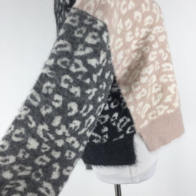 AllSaints Mohairwoolsweater Animalprint Sweater Image 5