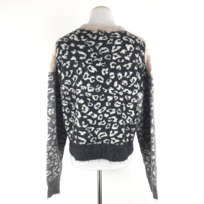 AllSaints Mohairwoolsweater Animalprint Sweater Image 6