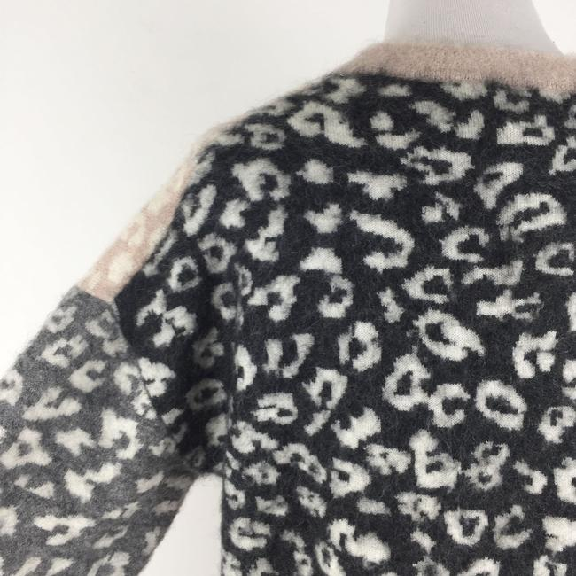 AllSaints Mohairwoolsweater Animalprint Sweater Image 7