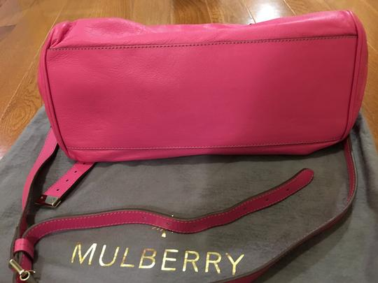 Mulberry Satchel in Rasberry Image 1