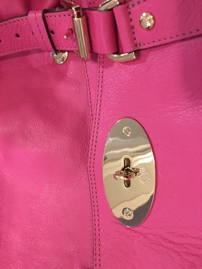 Mulberry Satchel in Rasberry Image 3
