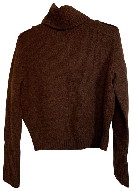 Preload https://img-static.tradesy.com/item/25775372/h-and-m-wool-blend-turtleneck-brown-sweater-0-1-650-650.jpg