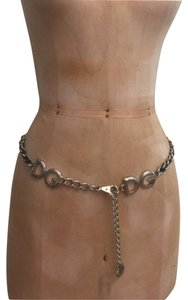 Dolce&Gabbana Dolce and Gabbana Vintage Leather Adjustable Chain Belt