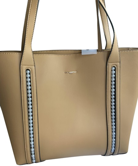 Karl Lagerfeld Pearl Tote in Yellow Image 1